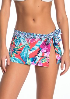 Tommy Bahama Orchid Groves Skirted Hipster Bikini Bottoms
