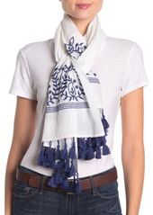 Tommy Bahama Paisley Embroidered Scarf