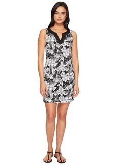 Tommy Bahama Palm Noir Sleeveless Tunic Dress