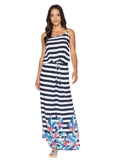 Tommy Bahama Palms Paradise Off the Shoulder Maxi Dress Cover-Up