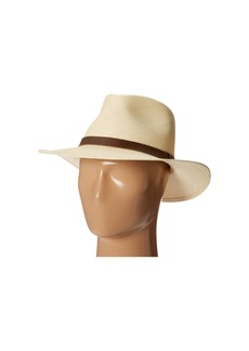 Tommy Bahama Panama Outback Hat with Leather Trim
