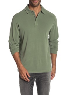 Tommy Bahama Paradise Sport Long Sleeve Zip Polo