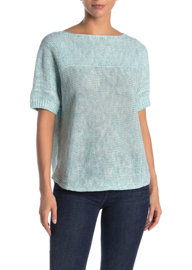 Tommy Bahama Paradise Sun Textured Short Sleeve Sweater