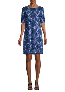 Tommy Bahama Patterned Shift Dress