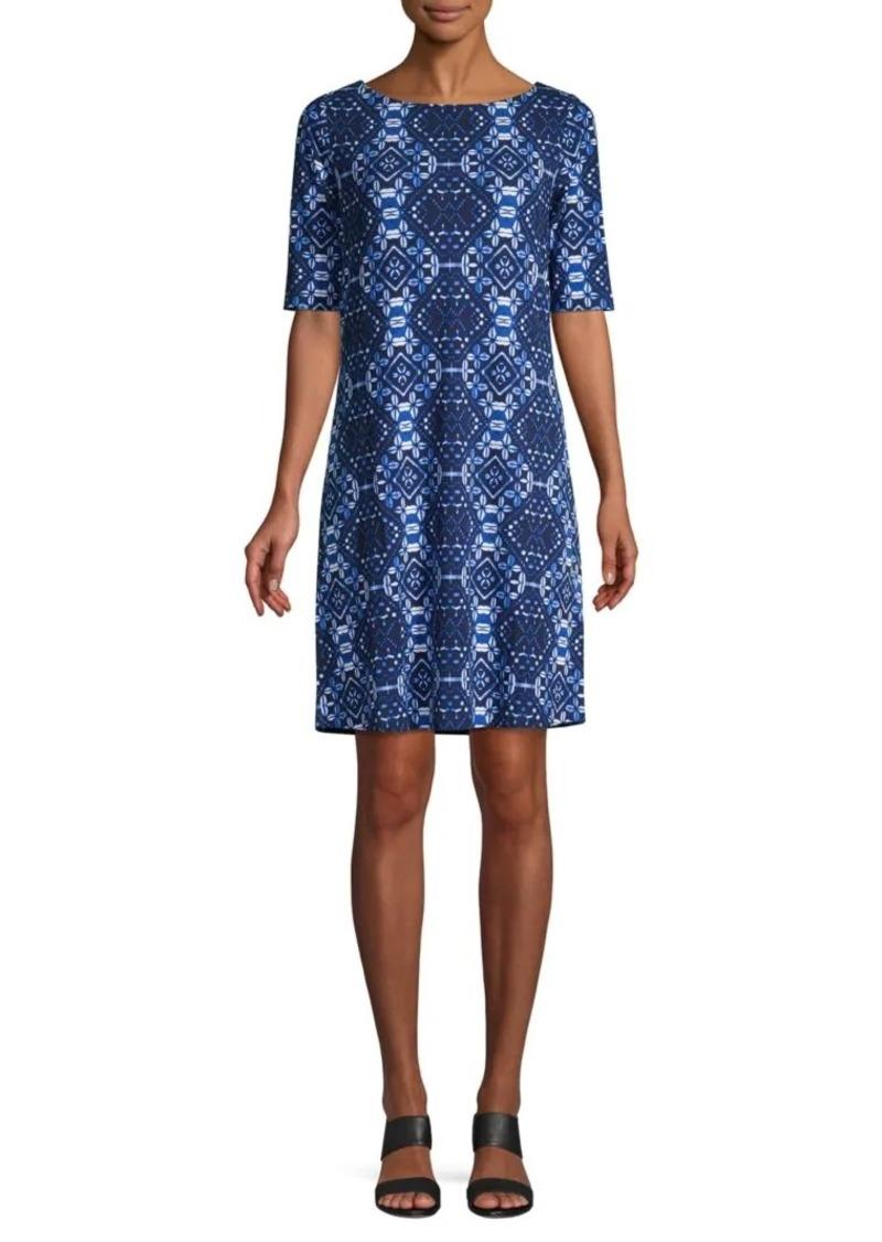 Tommy Bahama Patterned Shift Dress