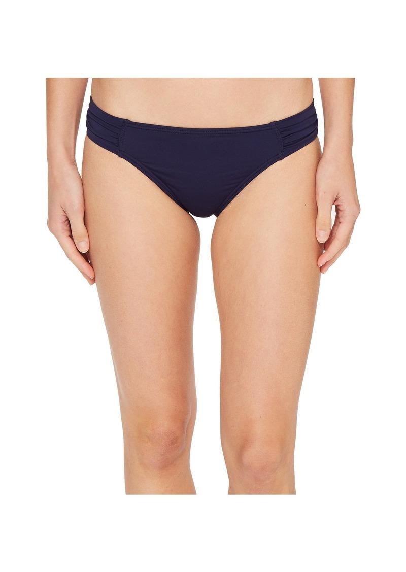 Tommy Bahama Pearl Side-Shirred Hipster Bikini Bottom