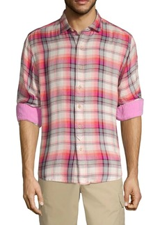 Tommy Bahama Pebble Bay Plaid Shirt
