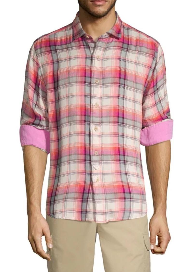Tommy Bahama Pebble Bay Plaid Shirt