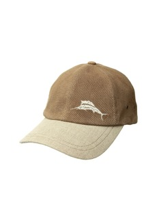 Tommy Bahama Perforated Leather Cap