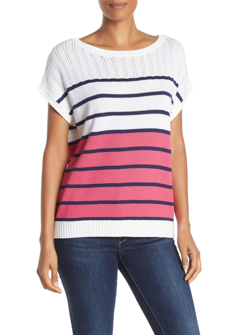 Tommy Bahama Pickford Colorblock Popover Sweater