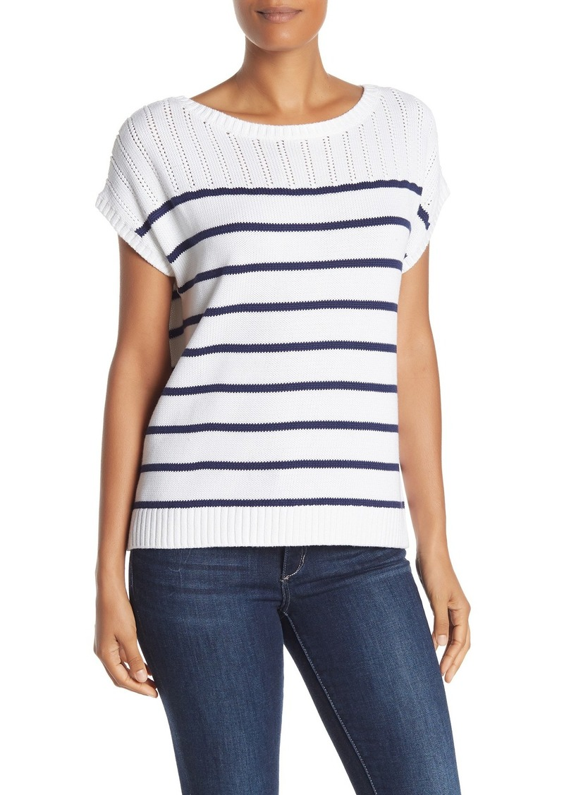 Tommy Bahama Pickford Striped Popover Sweater