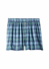 Tommy Bahama Plaid Flannel Boxer Shorts