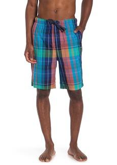 Tommy Bahama Plaid Lounge Shorts