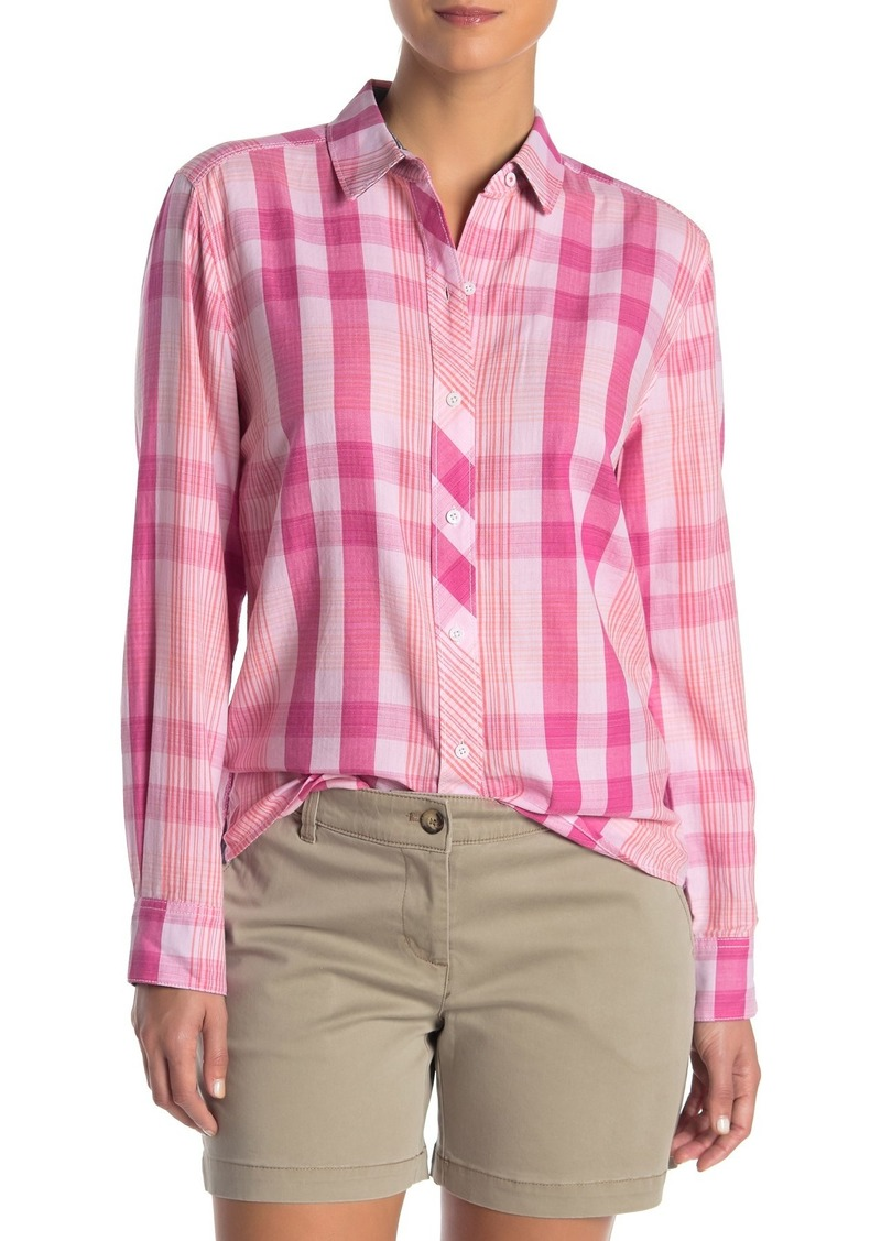 Tommy Bahama Plaid Tai Long Sleeve Shirt