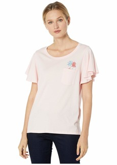 Tommy Bahama Pocket Icon Flutter Sleeve Tee