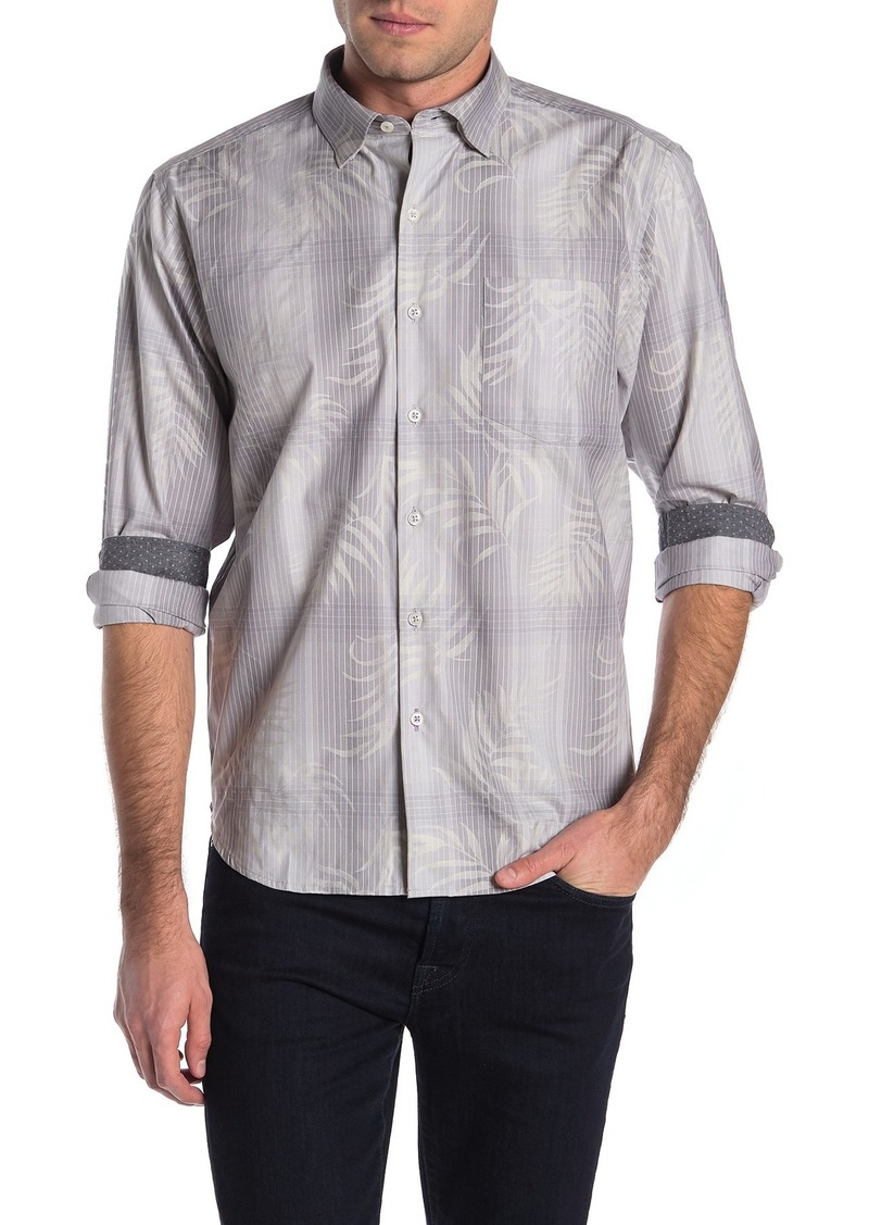 Tommy Bahama Primo Palms Plaid Print Shirt