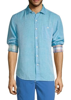 Tommy Bahama Printed Button-Down Shirt