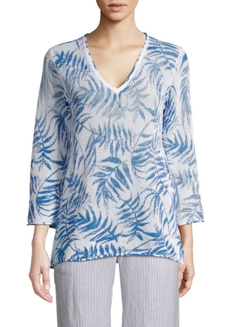 Tommy Bahama Printed Cotton Pullover