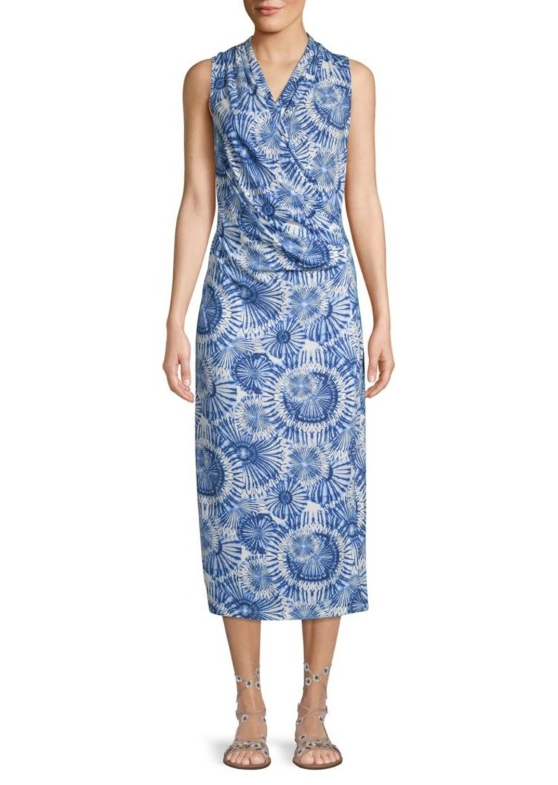 Tommy Bahama Printed Sleeveless Sheath Dress