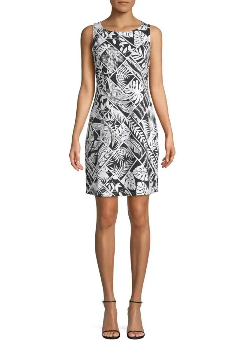 Tommy Bahama Printed Stretch Mini Dress
