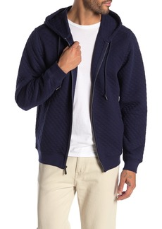 Tommy Bahama Quilt This City Zip Hooded Jacket