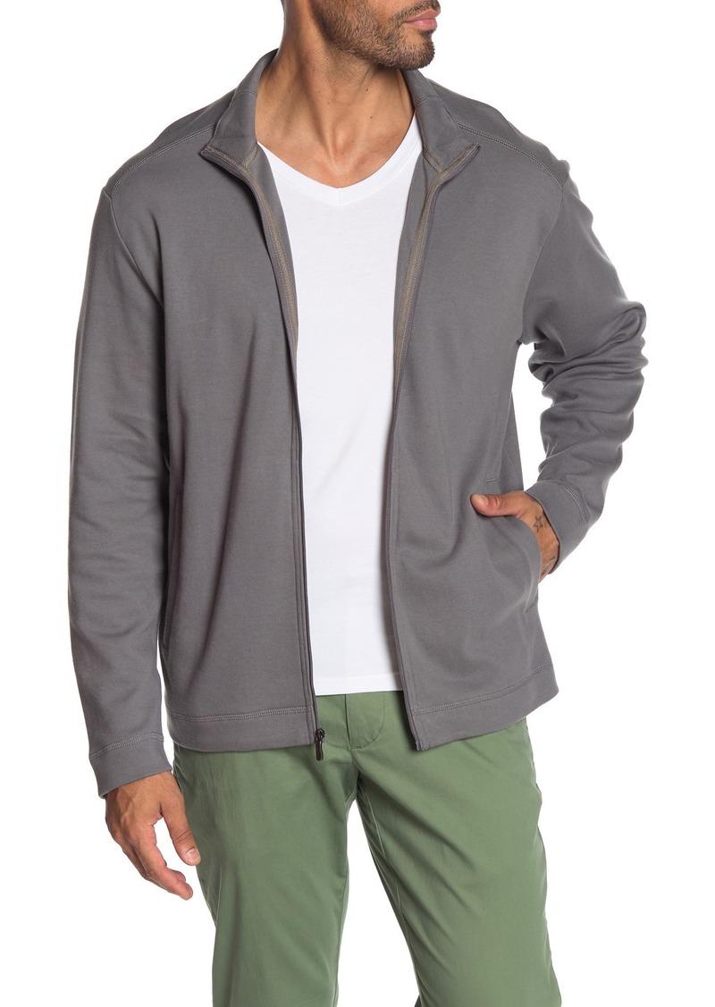 Tommy Bahama Ravello Jersey Zip Front Jacket
