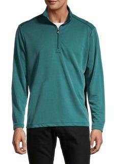 Tommy Bahama Regular-Fit Quarter-Zip Sweater