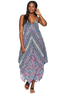 Tommy Bahama Riviera Tile Scarf Dress Cover-Up