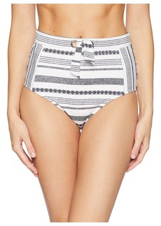 Tommy Bahama Sandbar Stripe High-Waist Pants