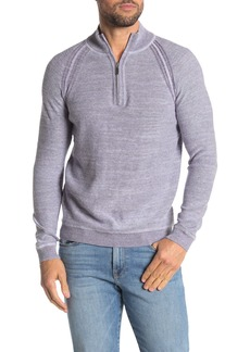 Tommy Bahama Sandy Bay Reversible Half-Zip Pullover Sweater