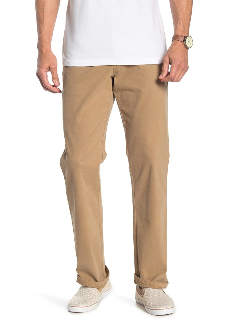 "Tommy Bahama Santiago Washed Twill Pants - 30-34"" Inseam"