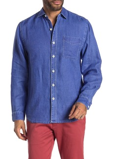Tommy Bahama Sea Glass Breezer Original Fit Linen Shirt (Big & Tall Available)