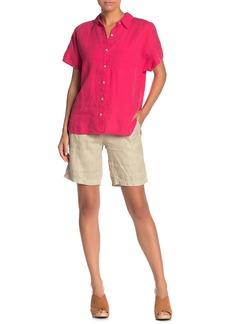 Tommy Bahama Sea Glass Linen Bermuda Shorts