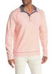 Tommy Bahama Seaway Snap Mock Neck Sweater