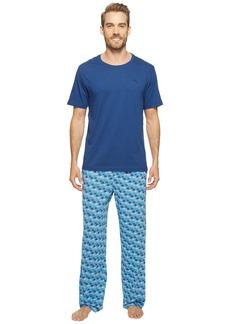 Tommy Bahama Short Sleeve Jersey Two-Piece Pajama