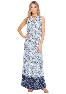 Tommy Bahama Sketchbook Blossoms Maxi Dress Cover-Up