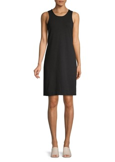 Tommy Bahama Sleeveless Cotton Blend Mini Dress