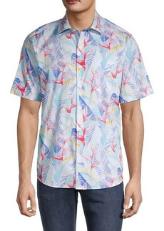 Tommy Bahama Slim-Fit Printed Shirt