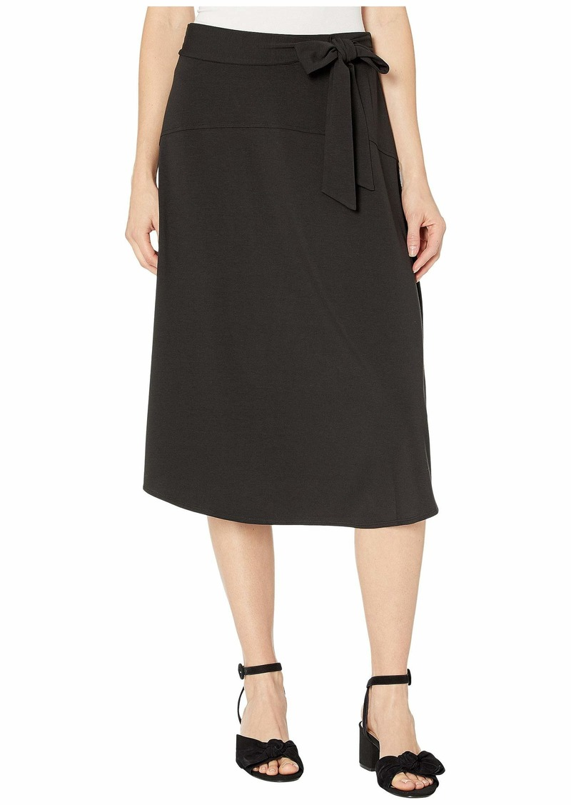 Tommy Bahama Solid Tambour Midi Skirt