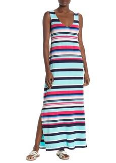 Tommy Bahama Sporting Stripe Maxi Dress