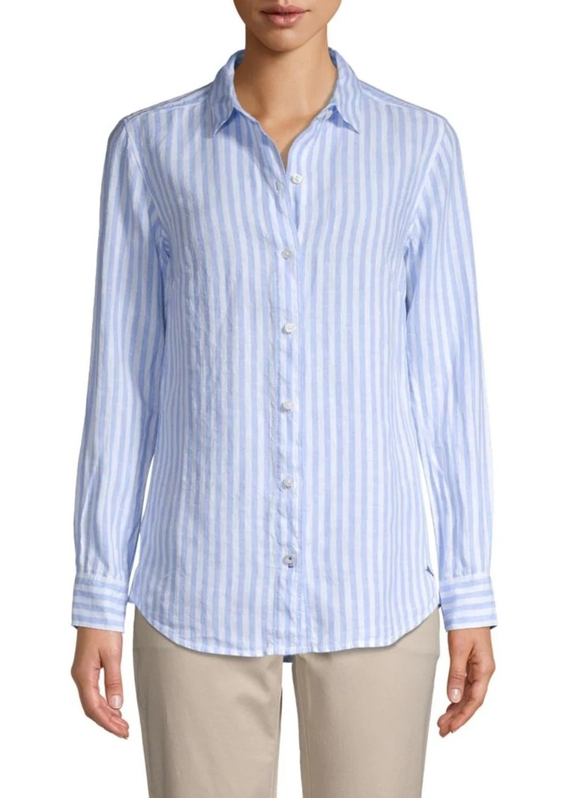 Tommy Bahama Striped Linen Shirt