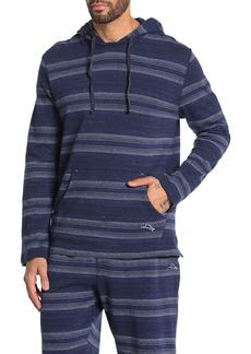 Tommy Bahama Striped Long Sleeve Lounge Hoodie