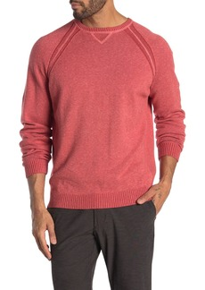Tommy Bahama Sun Up Sun Down Flip Reversible Crew Neck Sweater