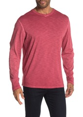 Tommy Bahama Suncoast Shores Long Sleeve V-Neck T-Shirt