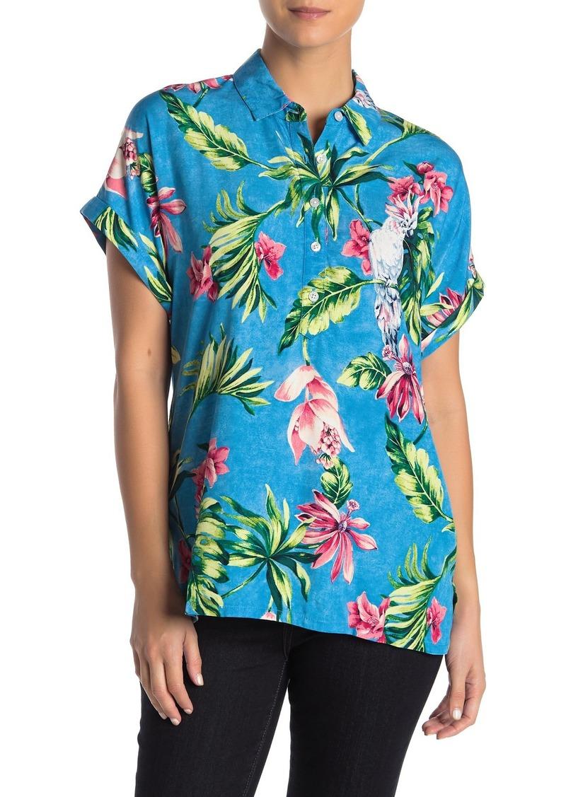 Tommy Bahama Tahitian Tweets Tropical Camp Shirt