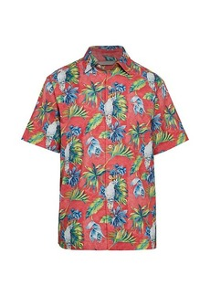 Tommy Bahama Tahitian Tweets Tropical-Print Shirt