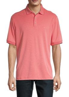 Tommy Bahama Textured Short-Sleeve Polo