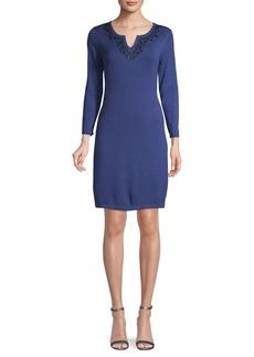 Tommy Bahama Three-Quarter Sleeve Sheath Dress