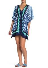 Tommy Bahama Tide Seashell Drawstring Dress
