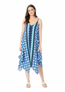 Tommy Bahama Tide Seashell Engineered Scarf Dress Cover-Up
